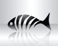 Fischauslegung Stockfoto