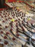 Fischbasar palamut stockfoto