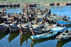 Fischboot stockfotografie