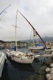 Fischboote Stockbild