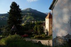 Fischburg em St Cristina em Val Gardena Imagens de Stock