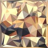Fischcremesuppe Gray Abstract Low Polygon Background Lizenzfreie Stockfotografie