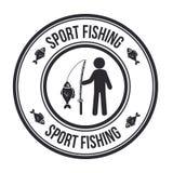 Fischdesign stock abbildung