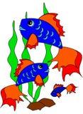 Fische. lizenzfreie abbildung
