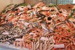 Fische auf einem Markt Stockbild