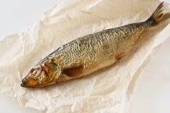 Fische der geräucherten Heringe Lizenzfreies Stockfoto