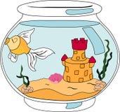 Fische in einem Aquarium Lizenzfreie Stockfotografie