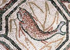 Fische - Fußbodenmosaiken stockbild