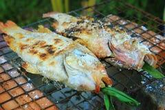 Fische gegrillt Lizenzfreie Stockbilder