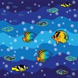 Fische im Meer Stockbild