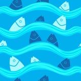 Fische im Meer Lizenzfreies Stockfoto