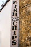 Fische u. Chips Stockbilder
