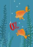 Fischen Lizenzfreie Abbildung