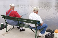Fischen-Freunde 1 Stockbilder