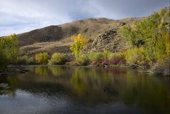 Fischen-Loch auf dem großen verlorenen Fluss Lizenzfreies Stockbild