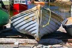 Fischen-Ruderboot Stockfotografie
