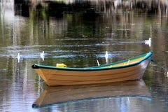 Fischen-Ruderboot Stockbild