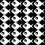Fischen Sie Muster Lizenzfreie Stockbilder