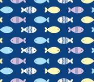 Fischen Sie Muster Lizenzfreie Stockfotografie