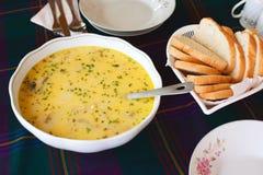 Fischen Sie Suppe Lizenzfreie Stockfotos