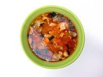 Fischen Sie Suppe lizenzfreie stockbilder