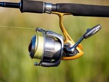Fischenbandspule Stockbild
