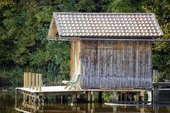 Fischenhütte Stockfoto