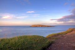 Fischenpunkt Bangor Wales Stockbilder
