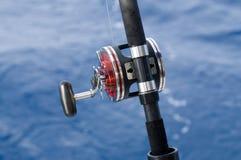 Fischenrolle Stockfotografie