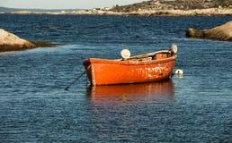 Fischenruderboot Lizenzfreie Stockbilder