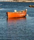 Fischenruderboot Stockfoto