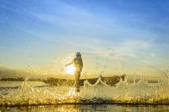 fischer Stockbild