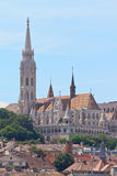 Fischer-Bastion, Budapest, Ungarn lizenzfreies stockbild