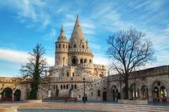Fischer-Bastion in Budapest, Ungarn Lizenzfreie Stockfotos