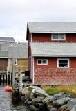 Fischer-Cove Eastern Passage-Gebäude lizenzfreie stockfotos