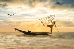 Fischer, Fishing Boat, Boot, Fish Stock Photo