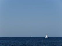 Fischer in Malta lizenzfreie stockfotografie