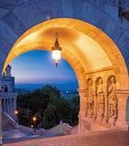 Fischer ` s Bastion in Budapest, Ungarn lizenzfreie stockbilder