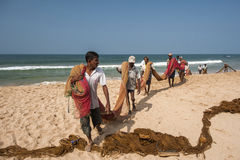 Fischer, Sri Lanka Stockfoto