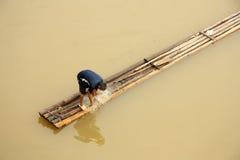 Fischer in Vietnam Stockbilder