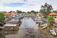 Fischer Village Lizenzfreies Stockfoto