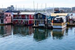 Fischer Wharf Victoria Lizenzfreie Stockbilder