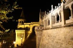 Fischerbastei de Budapest imagem de stock