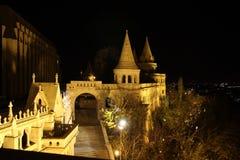 Fischerbastei de Budapest imagenes de archivo