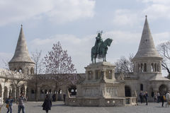 Fischerbastion Budapest Stockbild