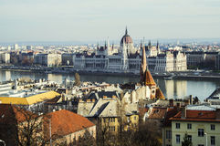 Fischerbastion Budapest Stockfotos