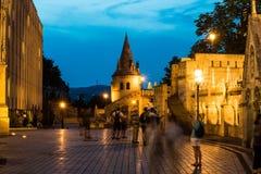 Fischerbastion in Budapest Stockfotografie