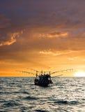 Fischerboot. Lizenzfreies Stockfoto