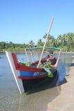 Fischerboot Birma, Stockfotografie