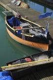 Fischerboot. Brighton-Jachthafen. Großbritannien Stockbild